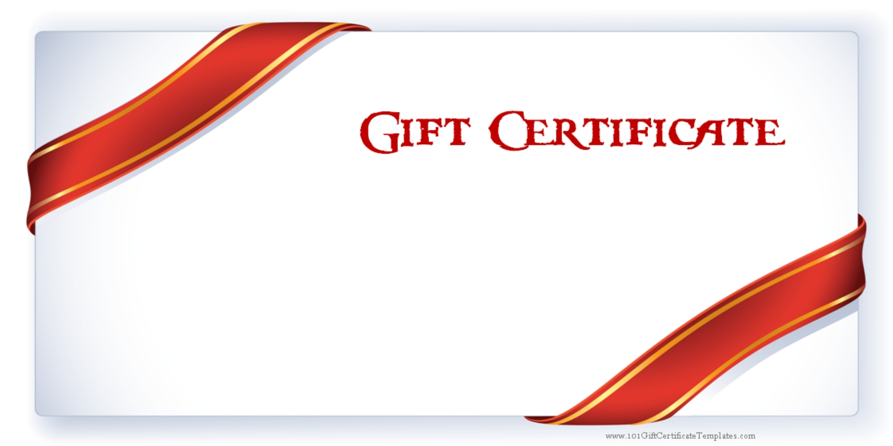 Custom Gift Certificate Fountain Springs Wellness Spa